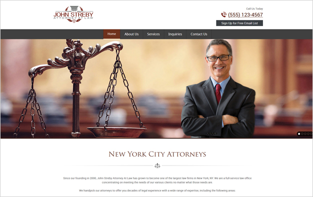 Website Design Servivces for Attorneys