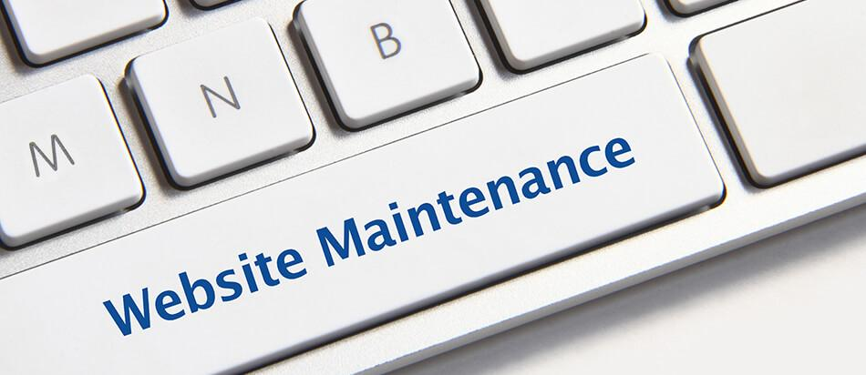 Digital rendering website maintenance chart