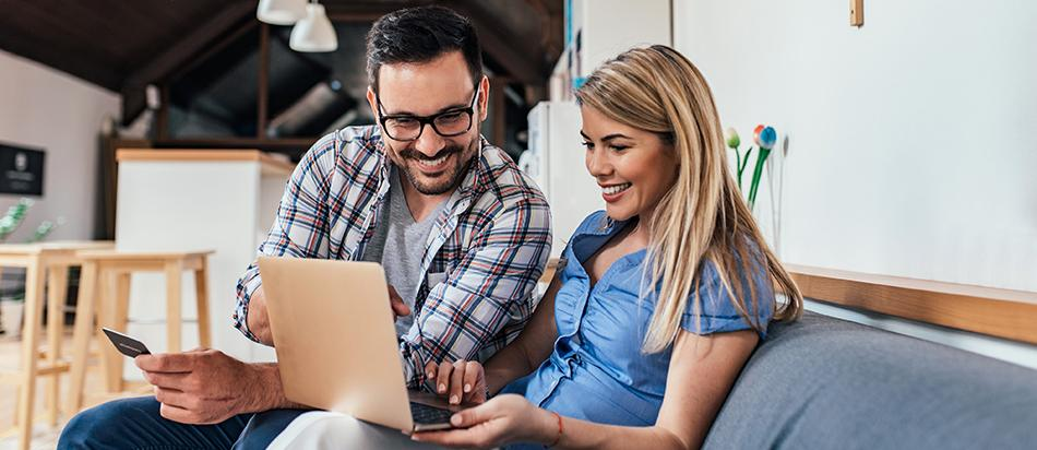 Engaged customers purchasing products from online small business